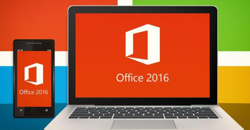 Novo Office 2016