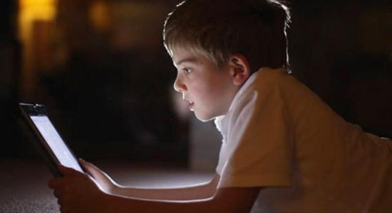 Luz dos smartphones