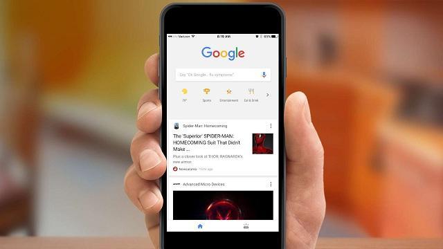 Feed de notícias do Google